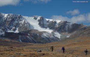 Altai trekking