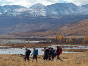 trekking to mongolia